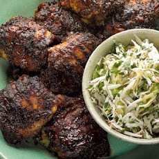 Jerk-spiced Chicken With Fresh Coconut Salsa