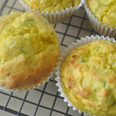 Zucchini and Corn Muffins