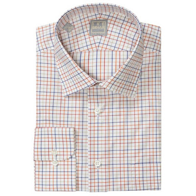 Ike Behar Gold Label Multi-Check Dress Shirt - Long Sleeve (For Men)