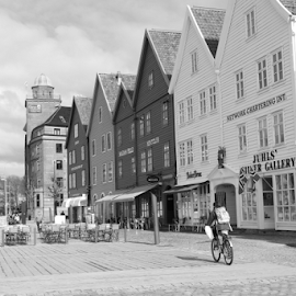 Bryggen by Mafalda Costa - City,  Street & Park  Neighborhoods