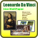 Leonardo Da Vinci Live Wallpap icon
