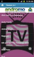 Screenshot of TV Themes of UK kids shows