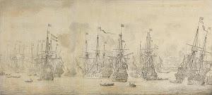 RIJKS: Willem van de Velde (I): painting 1669