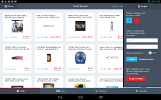 Screenshot of TechBargains