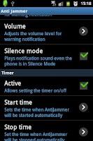Screenshot of Anti Jammer FREE (GSM SIGNAL)