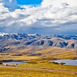 somewhere in Peru by Dmitry Samsonov - Landscapes Mountains & Hills ( andes, peru, south america, highlands )
