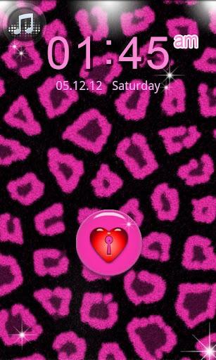 GO LOCKER Pink Leopard theme 1