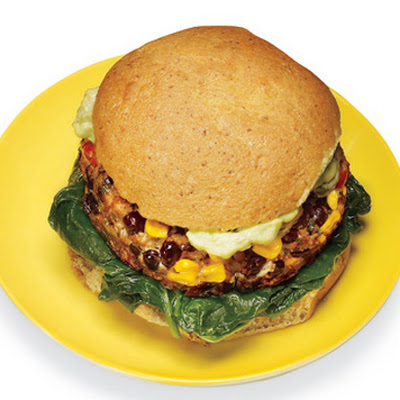 Black Bean-Corn Burger