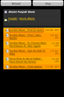 Screenshot of Ghaint Punjabi Music