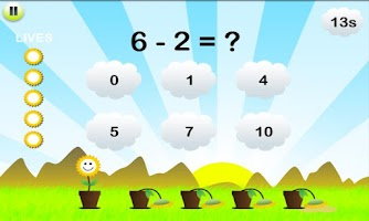 Screenshot of Math Training for Kids
