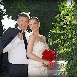 by Ivana Spevec - Wedding Bride & Groom