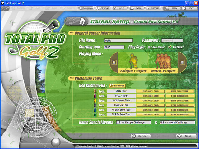 Total Pro Golf 2