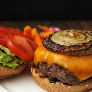 Bison Cheeseburger