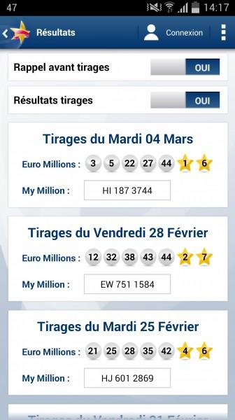 Euro Millions - My Million Screenshot 2
