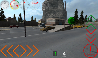 Screenshot of Duty Driver Taxi LITE