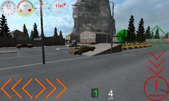 Screenshot of Duty Driver Taxi LITE