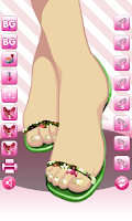 Screenshot of Pedicure Designer Lite