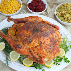 Roasted Thanksgiving Turkey (Let's Talk Turkey Week- Day 1)