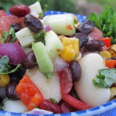 Mediterranean Three Bean Salad