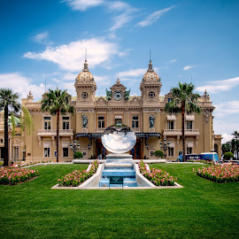 Monte Carlo by Guy Gillade - City,  Street & Park  Historic Districts ( monte carlo, casino )