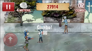 Screenshot of Zombie Smokeout