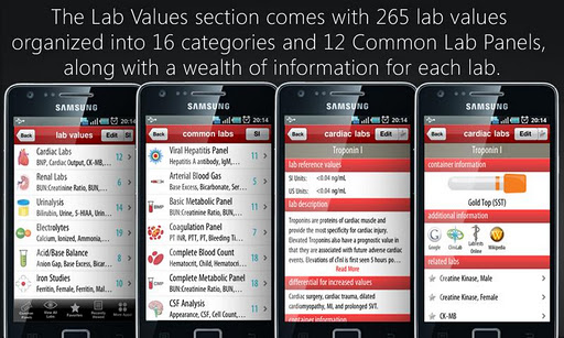 【免費醫療App】Lab Values + Medical Reference-APP點子