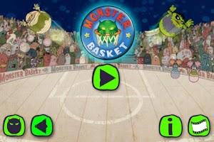 Screenshot of Monster Basket