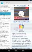 Screenshot of Daily Glub-glub
