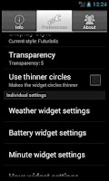 Screenshot of Circle Widget Free