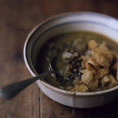 Kabocha French Lentil Soup