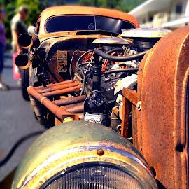 Rust, Wine, Rat Trap. by Chris Winner - Transportation Automobiles ( #rust #wine #rattrap )
