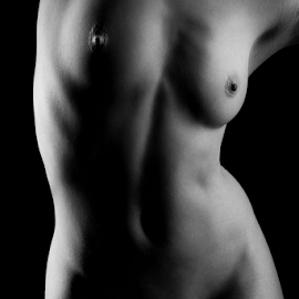 Hot body curves by Paul Phull - Nudes & Boudoir Artistic Nude ( body, nude, black and white, curves )
