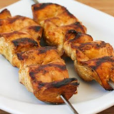 Grilled Skinless Chicken (Thighs or Breasts) with Asian Marinade