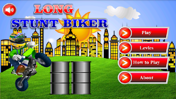 Screenshot of Long Stunt Biker