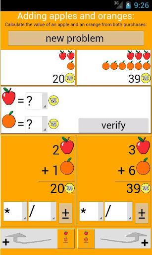 Adding apples and oranges