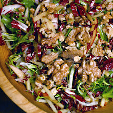 Radicchio Salad with Frisée and Apples