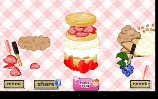 Screenshot of Strawberry Shortcake Dressup