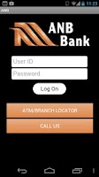 Screenshot of ANB Bank – Mobile Banking