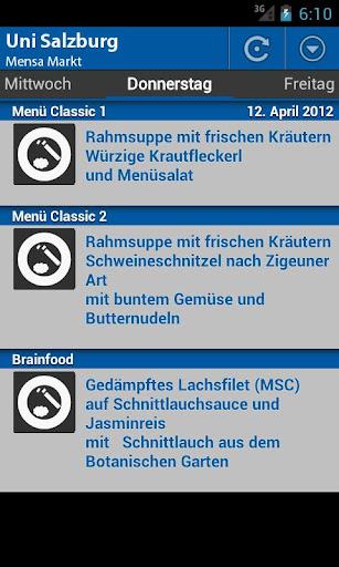 Mensa Salzburg