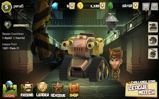 Screenshot of TOP TANK: LAST TANK STANDING