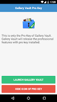 Screenshot of GalleryVault Pro Key