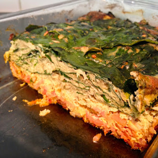 Creamy Quiche with Bacon & Spinach (Paleo)
