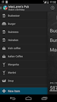Screenshot of Restaurant Expense Manager PRO