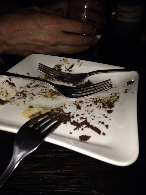 Gluten free deserts! Sorry I are it so fast I couldn't get a photo :(