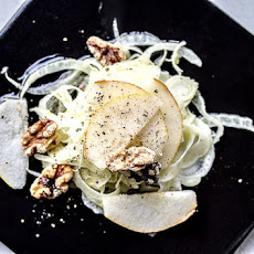 Fennel Salad With Asian Pears and Walnuts