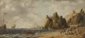 RIJKS: Bonaventura Peeters (I): painting 1652