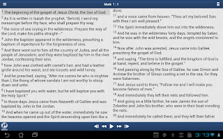 Screenshot of EWTN