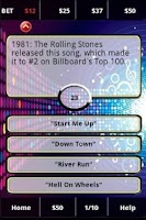 Screenshot of 80's Rockband FunBlast Trivia
