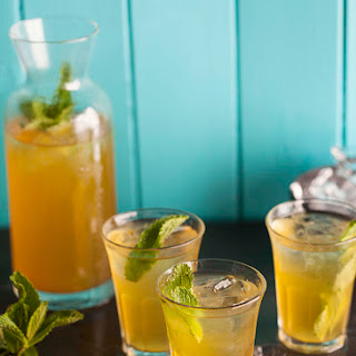 Chamomile Iced Tea With Apple And Passion Fruit