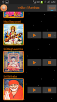 Screenshot of Mantras of Indian Gods